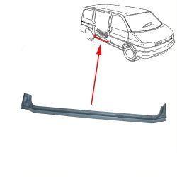 VW Bus T4 Reparaturblech Schiebetürschweller außen