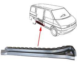 VW Bus T4 Reparaturblech Schiebetürschweller innen
