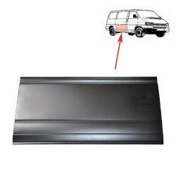 VW Bus T4 Reparaturblech Schiebetür unten außen hohe Ausf.