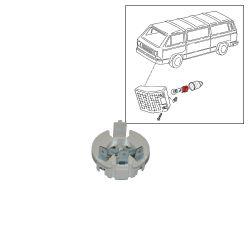 VW Bus T2 T3 Lampenfassung für Blinkerbirne 2-polig
