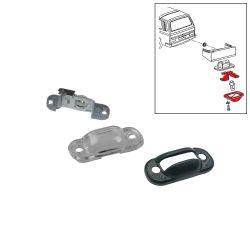 VW Bus T3 Lampenträger inkl. Glas für Kennzeichenleuchte