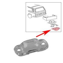 VW Bus T2 T3 Kennzeichenleuchtenglas