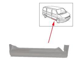 VW Bus T4 Schweller / Einstiegsblech rechts Reparaturblech