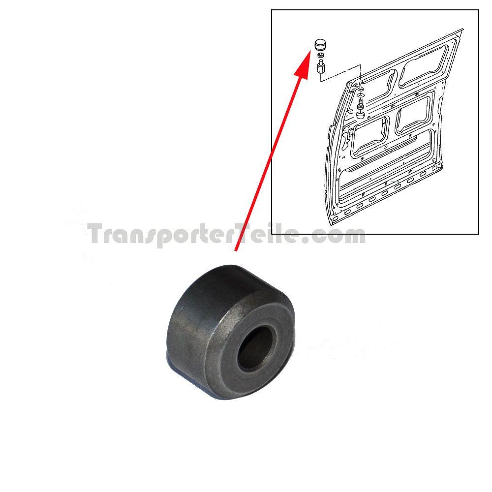 vw bus t2 t3 hochdach rolle schiebet rf hrung oben 251843423b ersatzteile g nstig kaufen. Black Bedroom Furniture Sets. Home Design Ideas