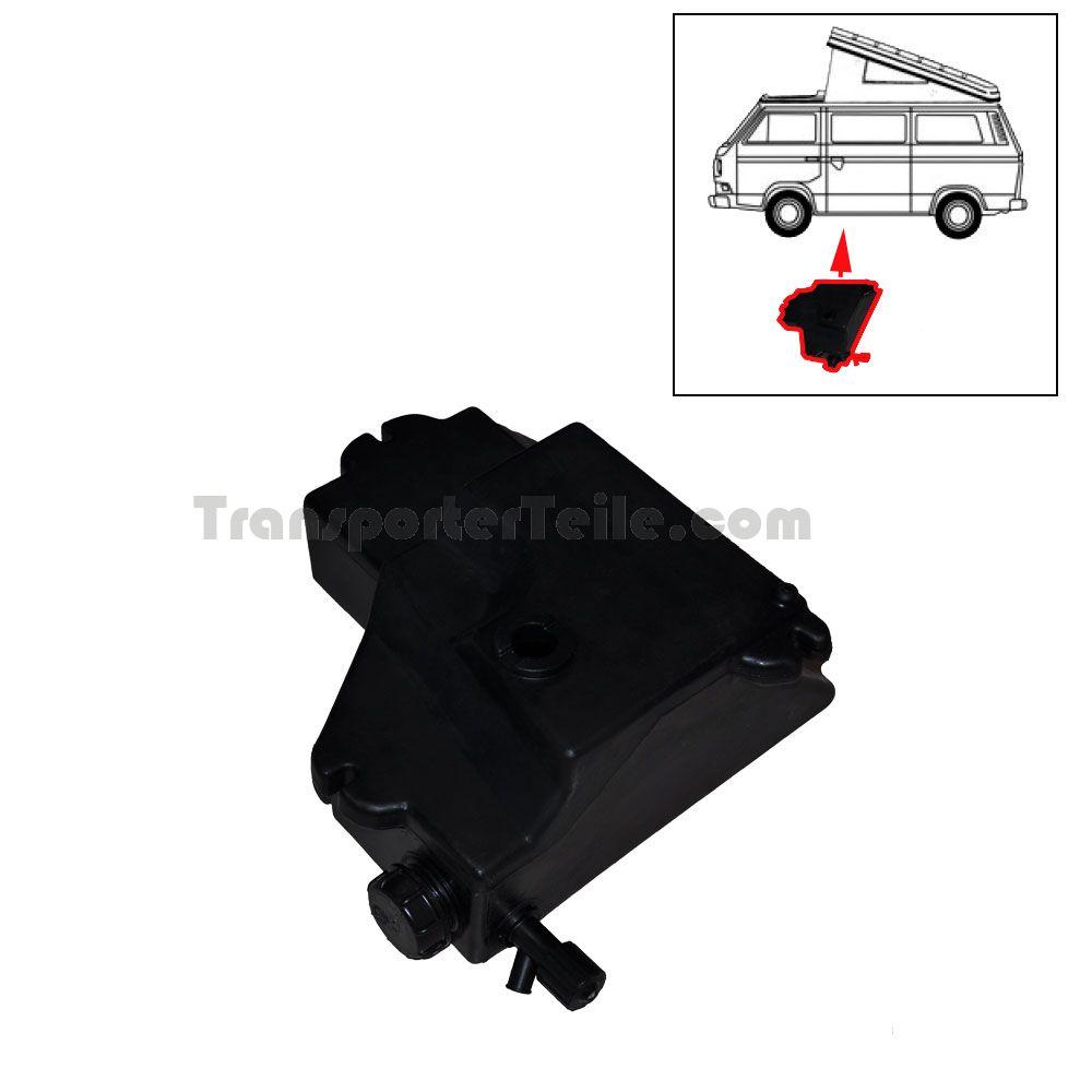 vw bus t2 t3 westfalia abwassertank 255070814c ersatzteile. Black Bedroom Furniture Sets. Home Design Ideas