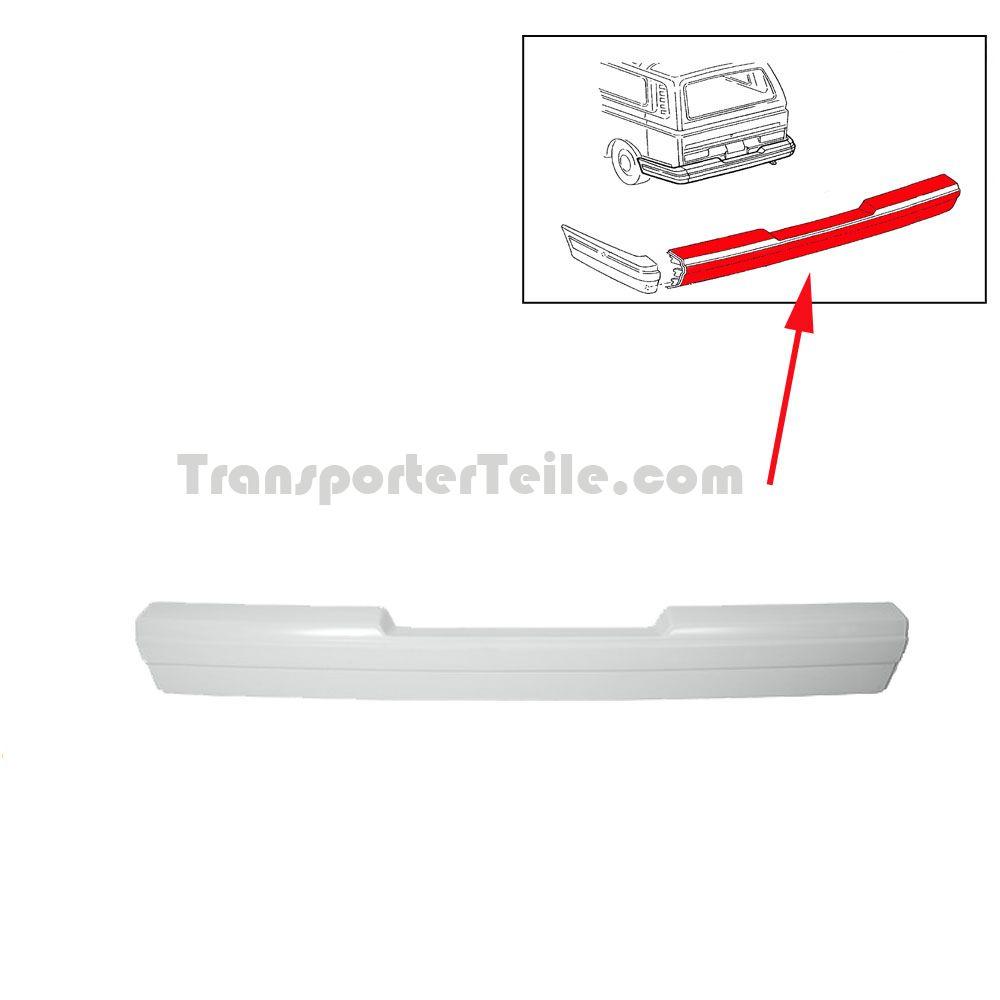 vw bus t2 t3 gfk sto stange hinten mittelteil 255807311l. Black Bedroom Furniture Sets. Home Design Ideas