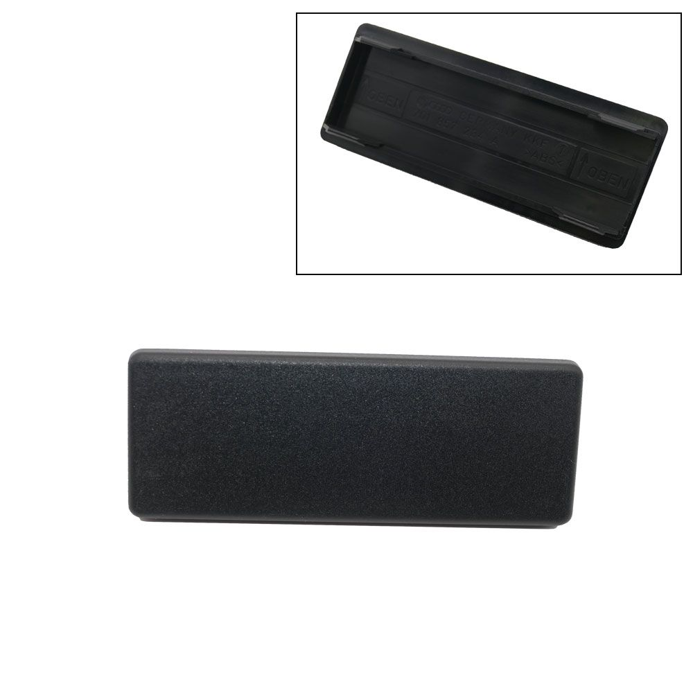NEU Original Blinddeckel Abdeckung Schalter Bus T4  schwarz 701857234A