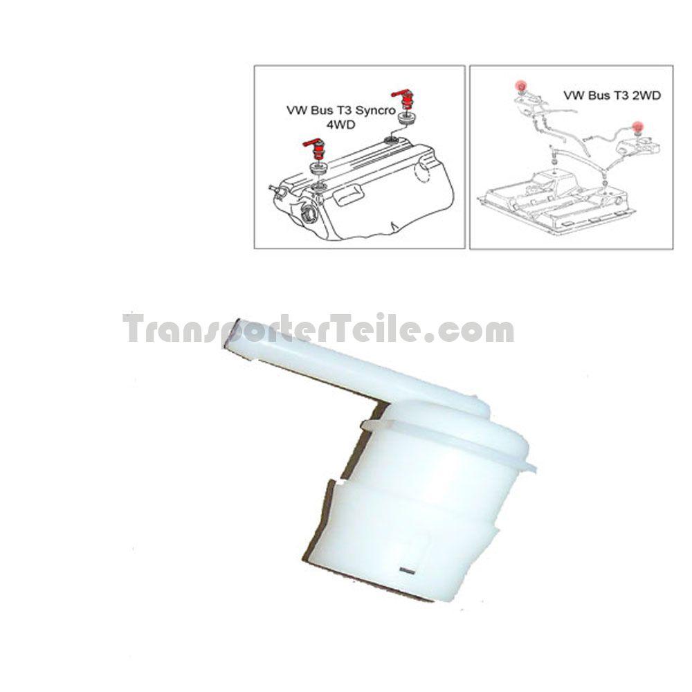 vw bus t2 t3 schwimmerventil f r tankentl ftung 251201311b. Black Bedroom Furniture Sets. Home Design Ideas